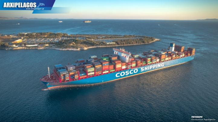 Photo of COSCO Shipping Aquarius – Άφιξη στο pct του Περάματος