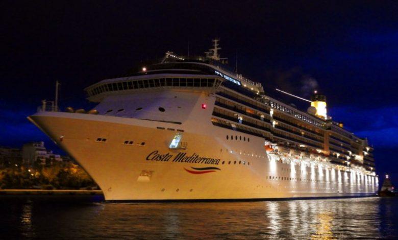Διπλή ναύλωση του Costa Mediterranea