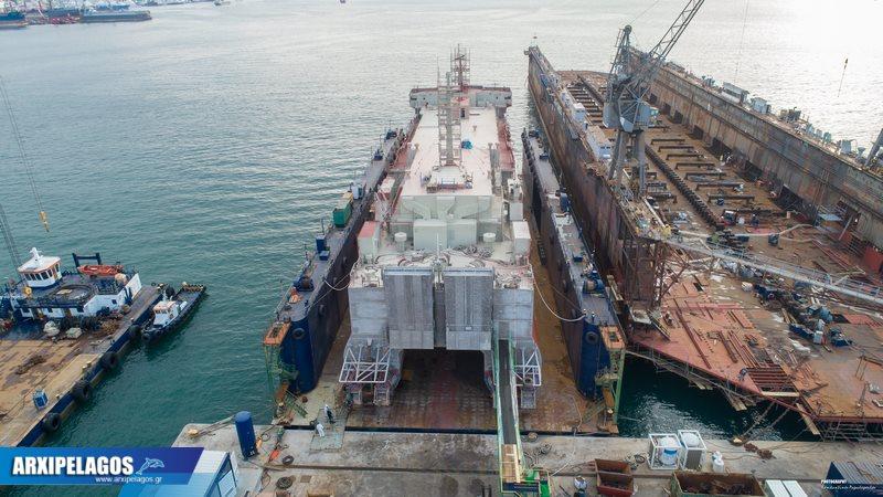 Στα ναυπηγεία Σπανόπουλου το Cat I πρώην Αλκυόνη (2)