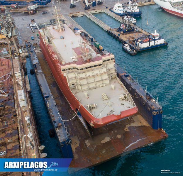 Στα ναυπηγεία Σπανόπουλου το Cat I πρώην Αλκυόνη (6)