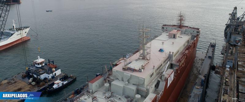 Στα ναυπηγεία Σπανόπουλου το Cat I πρώην Αλκυόνη (8)