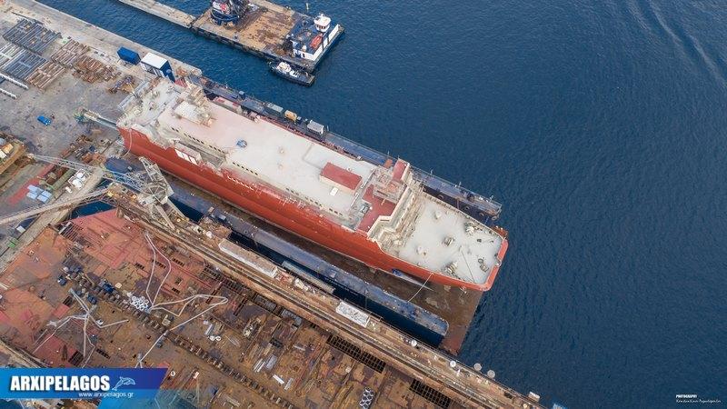 Στα ναυπηγεία Σπανόπουλου το Cat I πρώην Αλκυόνη (9)