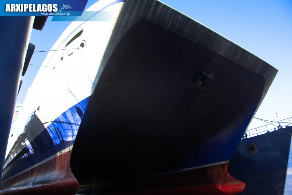 To Thunder της Fast Ferries στα Νέα Ελληνικά Ναυπηγεία της Spanopoulos Group (2)