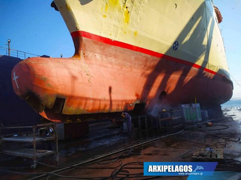 Εικόνες από το Πρωτεύς στα ναυπηγεία Σπανόπουλου (4)