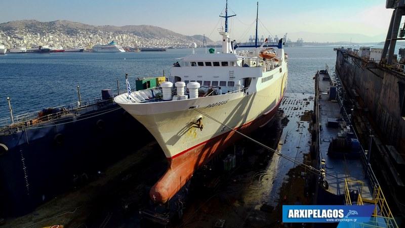 Εικόνες από το Πρωτεύς στα ναυπηγεία Σπανόπουλου (5)