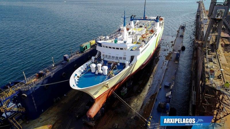 Εικόνες από το Πρωτεύς στα ναυπηγεία Σπανόπουλου (8)