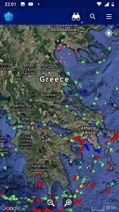 Επίσκεψη του Arxipelagos στο Marinetraffic (3)