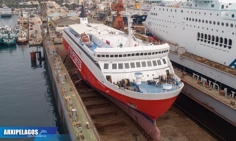 Fast Ferries Andros Εικόνες από τη δεξαμενή (10)