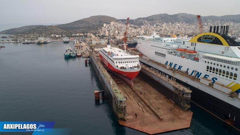 Fast Ferries Andros Εικόνες από τη δεξαμενή (11)