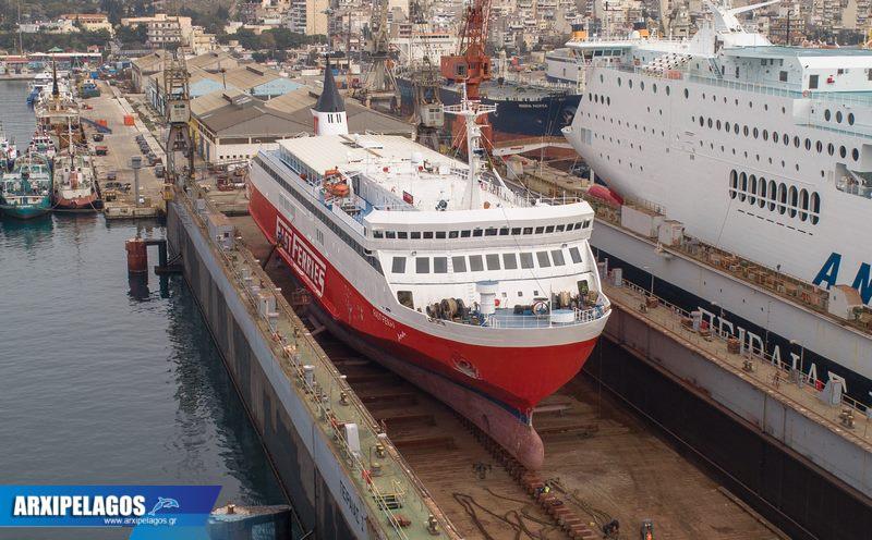 Fast Ferries Andros Εικόνες από τη δεξαμενή (12)