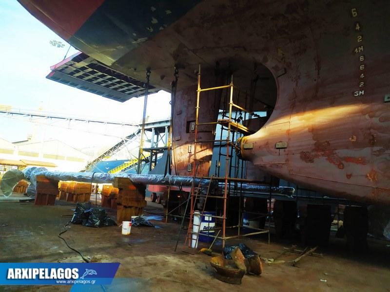 Fast Ferries Andros Εικόνες από τη δεξαμενή (3)