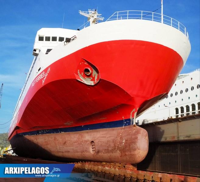 Fast Ferries Andros Εικόνες από τη δεξαμενή (4)
