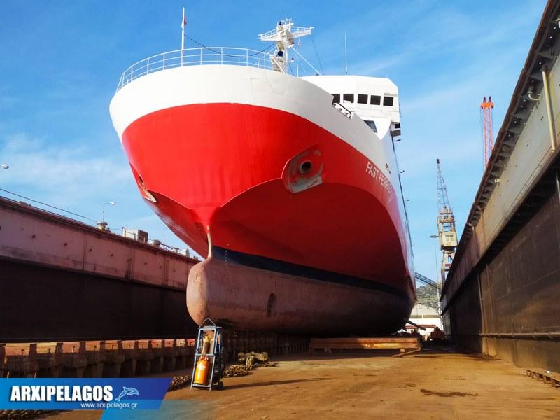 Fast Ferries Andros Εικόνες από τη δεξαμενή (6)