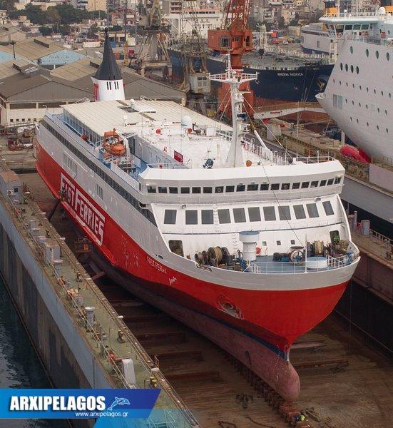 Fast Ferries Andros Εικόνες από τη δεξαμενή (8)
