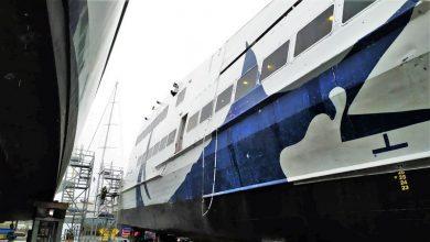 Photo of Εικόνες του Seajet 2 από τα ναυπηγεία Άτλας