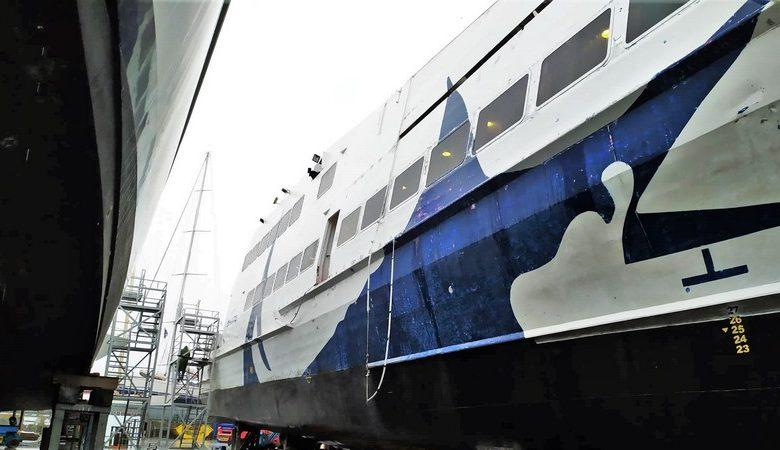 Εικόνες του Seajet 2 από τα ναυπηγεία Άτλας (1)