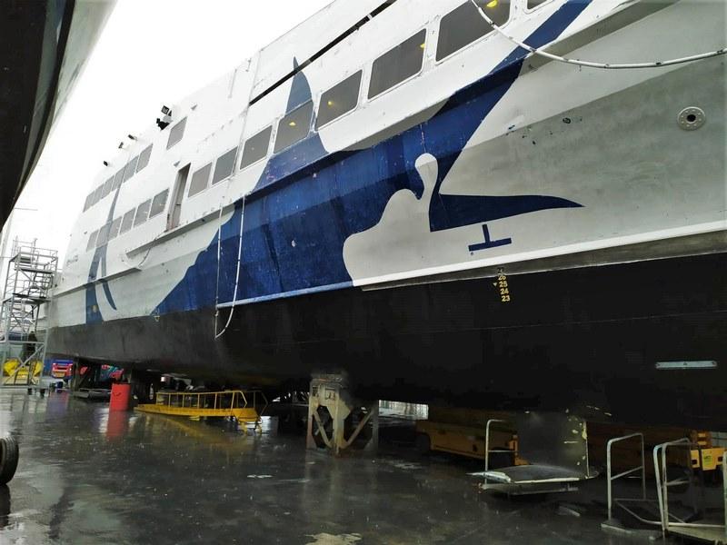 Εικόνες του Seajet 2 από τα ναυπηγεία Άτλας (3)