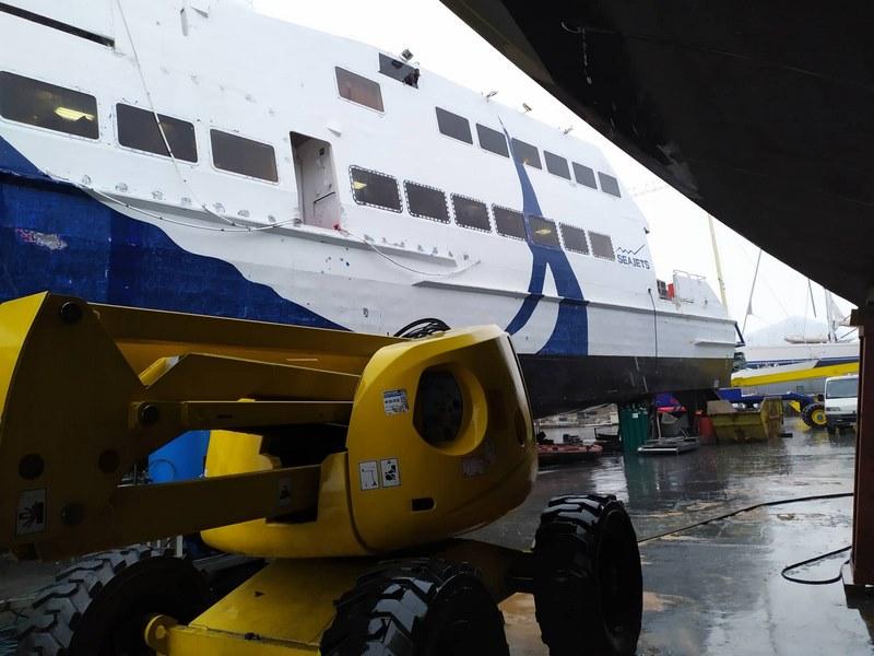 Εικόνες του Seajet 2 από τα ναυπηγεία Άτλας (4)