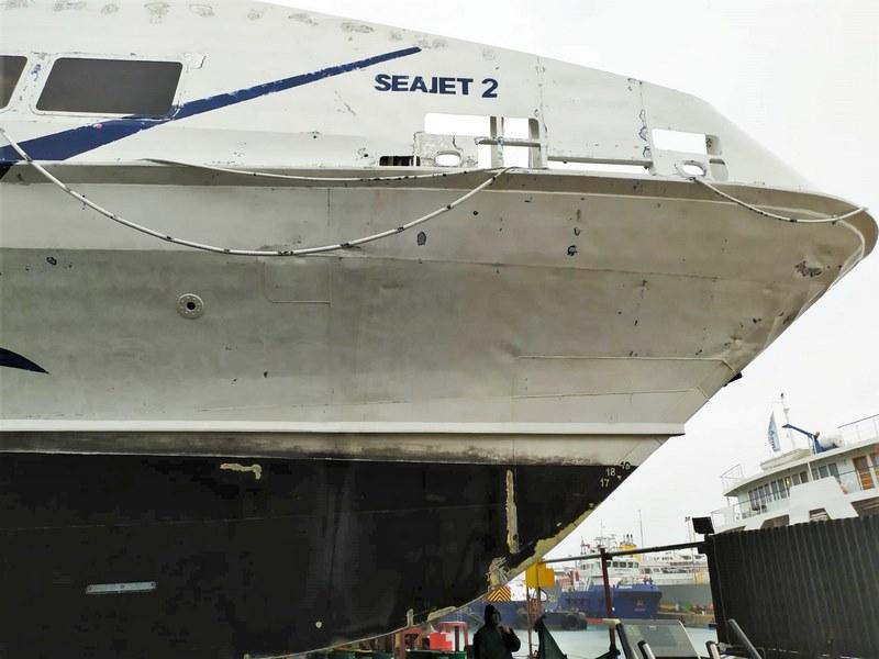 Εικόνες του Seajet 2 από τα ναυπηγεία Άτλας (5)