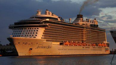 Photo of Εκτάκτως στη Σαντορίνη το Anthem of the Seas!