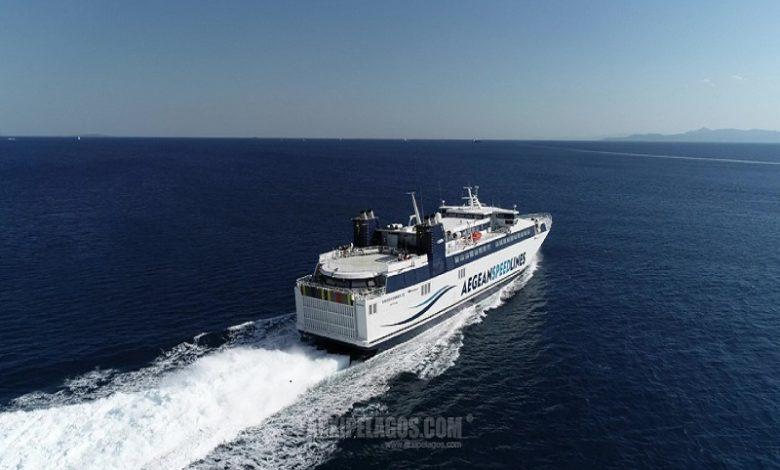 Η Aegean Speed Lines ανακοινώνει την έναρξη δρομολογίων του HSC SPEEDRUNNER III στην γραμμή των Δυτικών Κυκλάδων από την 5η ΙΟΥΝΙΟΥ 202, Αρχιπέλαγος, Ναυτιλιακή πύλη ενημέρωσης