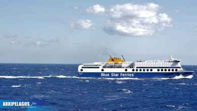 Photo of Από την Τετάρτη στα Δωδεκάνησα και τις Κυκλάδες το Blue Star 1