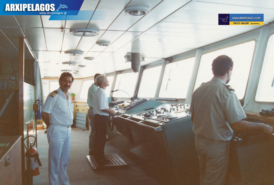 Βασίλης Λεονταράκης Πλοίαρχος Ε.Ν Αφιέρωμα 11, Αρχιπέλαγος, Ναυτιλιακή πύλη ενημέρωσης