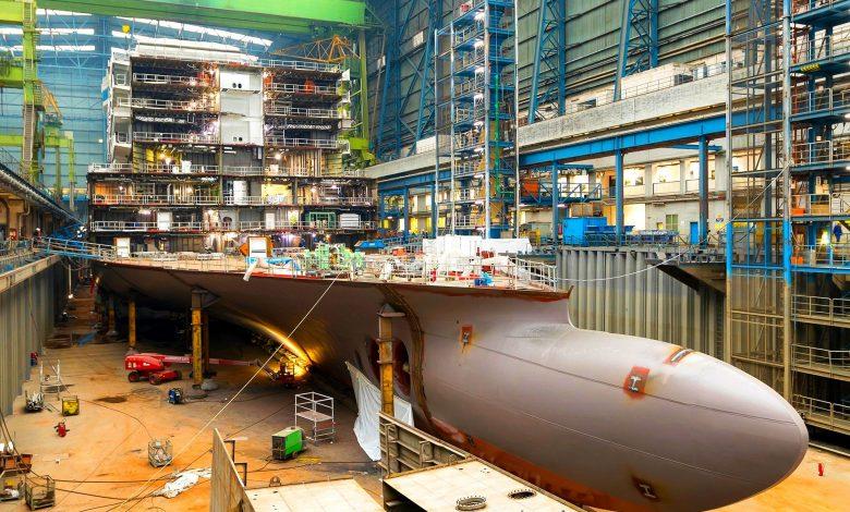 Προσωρινή αναστολή λειτουργίας των ναυπηγείων Meyer Werft, Αρχιπέλαγος, Ναυτιλιακή πύλη ενημέρωσης