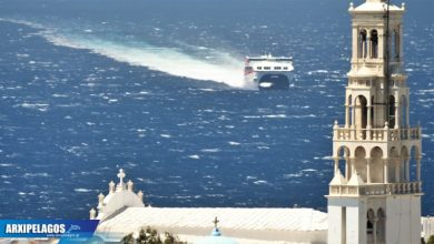 Photo of Στην Τήνο σήμερα το Santorini Palace