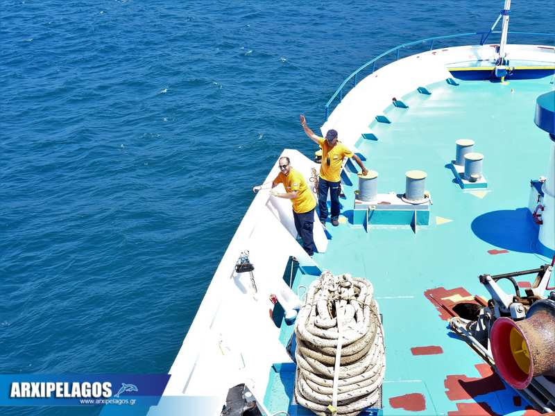 Cpt Δημήτρης Λαδάς ρεμέντζα με το Ιονίς στην Κέα και το Λαύριο Video 3, Αρχιπέλαγος, Ναυτιλιακή πύλη ενημέρωσης