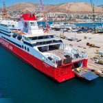 Superfast XI έτοιμο με τη νέα τσιμινιέρα photos 1, Αρχιπέλαγος, Ναυτιλιακή πύλη ενημέρωσης