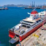 Superfast XI έτοιμο με τη νέα τσιμινιέρα photos 10, Αρχιπέλαγος, Ναυτιλιακή πύλη ενημέρωσης
