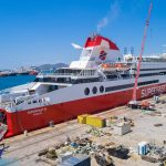 Superfast XI έτοιμο με τη νέα τσιμινιέρα photos 2, Αρχιπέλαγος, Ναυτιλιακή πύλη ενημέρωσης