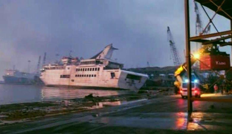 Σοβαρές ζημιές στην Orient Queen στο λιμάνι της Βηρυτού, Αρχιπέλαγος, Ναυτιλιακή πύλη ενημέρωσης