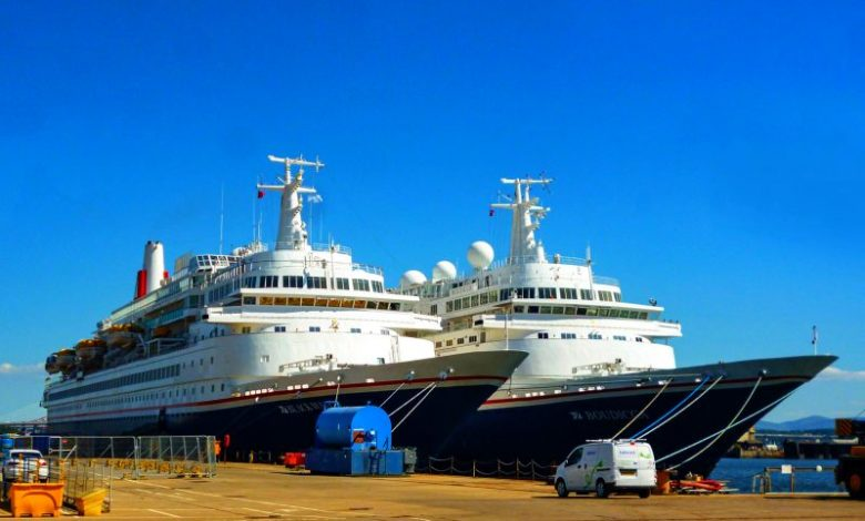 Πλωτά ξενοδοχεία τα Boudicca και Black Watch, Αρχιπέλαγος, Ναυτιλιακή πύλη ενημέρωσης