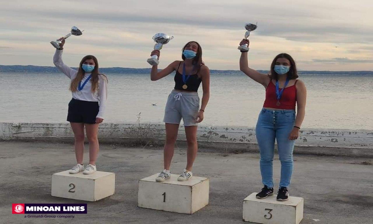 Οι Μινωικές Γραμμές συγχαίρουν τη χρυσή πανελληνιονίκη Βάσω Βλαχάκη 1, Αρχιπέλαγος, Ναυτιλιακή πύλη ενημέρωσης