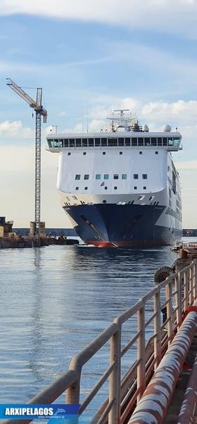 Έδεσε στη Νάπολη και αναμένει για τη νέα αποστολή το Cruise Bonaria φωτο 3, Αρχιπέλαγος, Ναυτιλιακή πύλη ενημέρωσης
