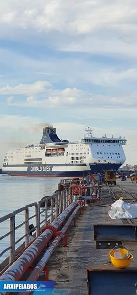 Έδεσε στη Νάπολη και αναμένει για τη νέα αποστολή το Cruise Bonaria φωτο 6, Αρχιπέλαγος, Ναυτιλιακή πύλη ενημέρωσης