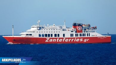 Photo of Zanteferries – Τροποποίηση δρομολογίου Κυκλάδων Τετάρτη 24/02/2021 & Πέμπτη 25/02/2021