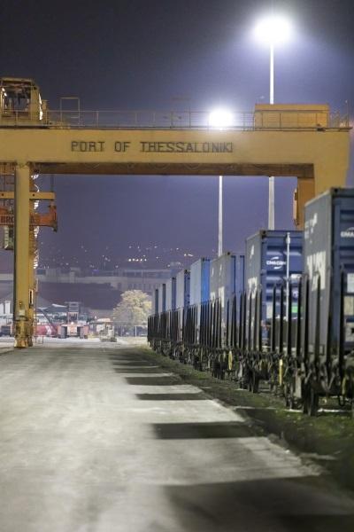 Αναχώρησε σήμερα το 1ο τρένο από το Λιμάνι της Θεσσαλονίκης 2, Αρχιπέλαγος, Ναυτιλιακή πύλη ενημέρωσης