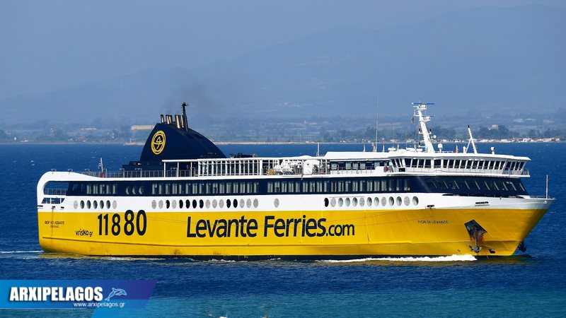 Fior di Levante από Πάτρα για Σάμη Ιθάκη, Αρχιπέλαγος, Ναυτιλιακή πύλη ενημέρωσης
