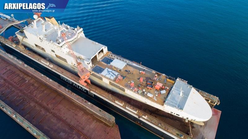Ocean Trader στη δεξαμενή Piraeus III 2, Αρχιπέλαγος, Ναυτιλιακή πύλη ενημέρωσης