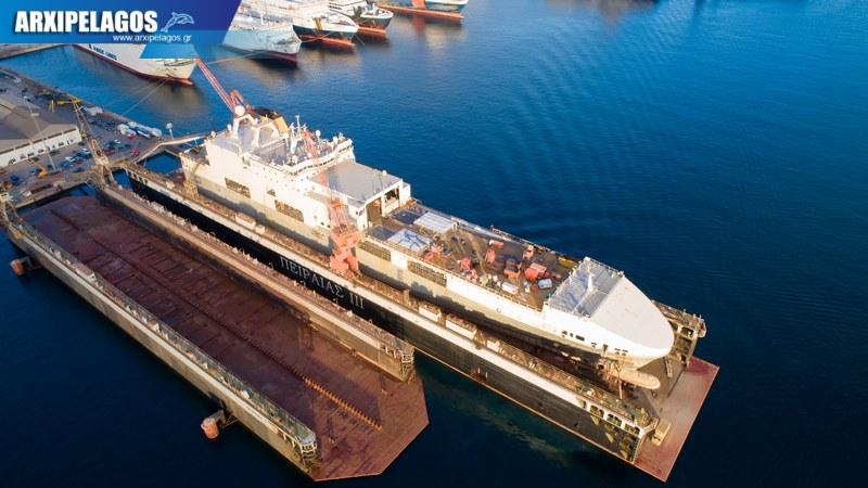 Ocean Trader στη δεξαμενή Piraeus III 3, Αρχιπέλαγος, Ναυτιλιακή πύλη ενημέρωσης