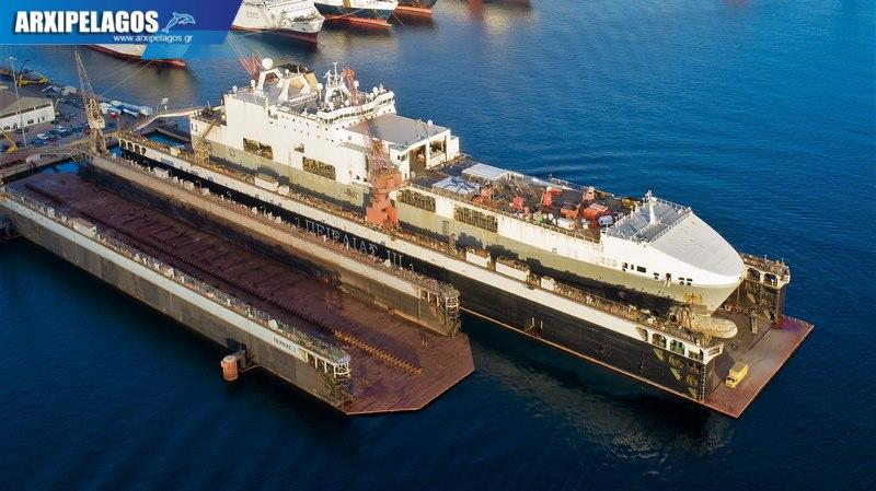 Ocean Trader στη δεξαμενή Piraeus III 4, Αρχιπέλαγος, Ναυτιλιακή πύλη ενημέρωσης