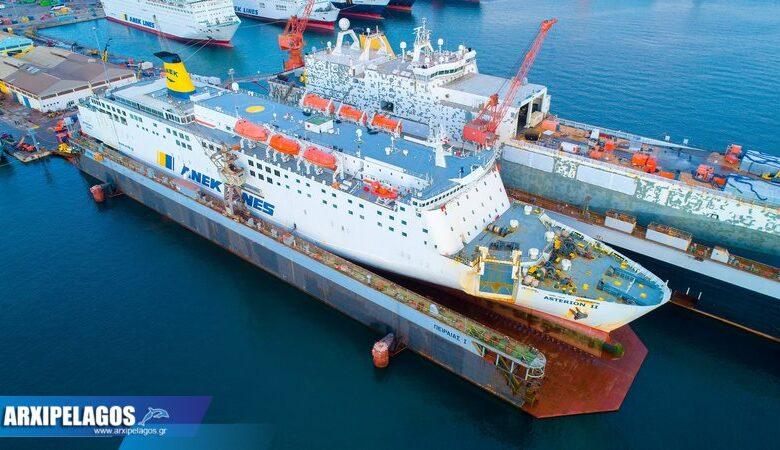 ΙΙ Εντυπωσιακές εικόνες από τη δεξαμενή Drone photos 1, Αρχιπέλαγος, Ναυτιλιακή πύλη ενημέρωσης