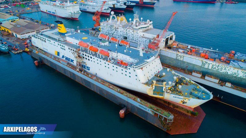 ΙΙ Εντυπωσιακές εικόνες από τη δεξαμενή Drone photos 2, Αρχιπέλαγος, Ναυτιλιακή πύλη ενημέρωσης