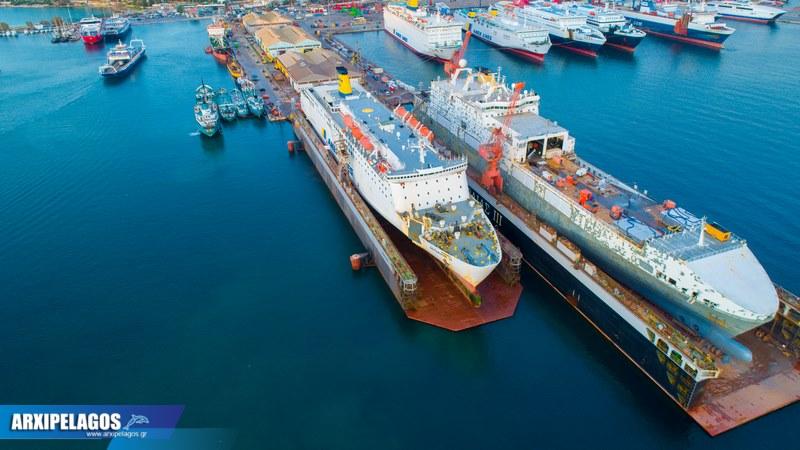 ΙΙ Εντυπωσιακές εικόνες από τη δεξαμενή Drone photos 4, Αρχιπέλαγος, Ναυτιλιακή πύλη ενημέρωσης