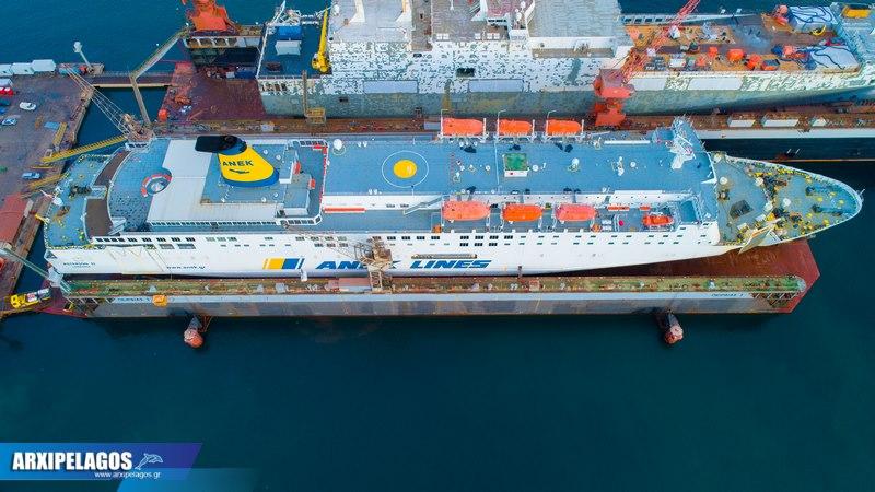 ΙΙ Εντυπωσιακές εικόνες από τη δεξαμενή Drone photos 8, Αρχιπέλαγος, Ναυτιλιακή πύλη ενημέρωσης