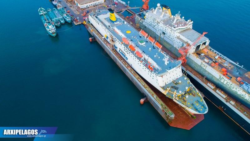 ΙΙ Εντυπωσιακές εικόνες από τη δεξαμενή Drone photos 9, Αρχιπέλαγος, Ναυτιλιακή πύλη ενημέρωσης
