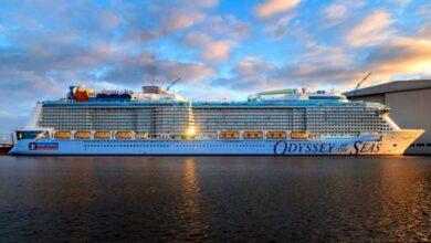 δοκιμαστικό για το Odyssey of the Seas, Αρχιπέλαγος, Ναυτιλιακή πύλη ενημέρωσης